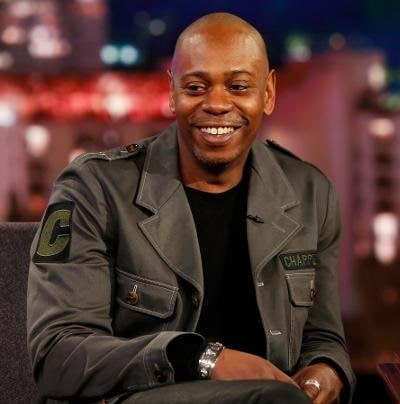 A picture of Elaine Chappelle's husband Dave Chappelle.