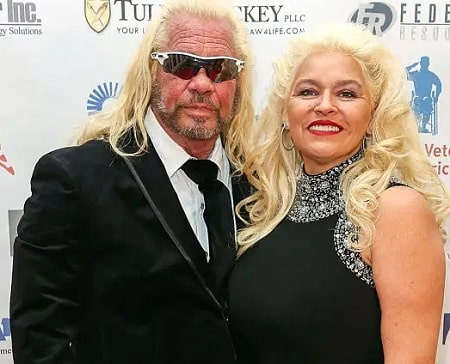 In picture, Duane 'Dog' Chapman with his deceased wife, Beth Smith.