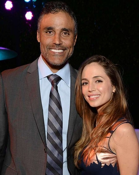 Rick Rox and his ex-girlfriend, Eliza Dushku in a picture.
