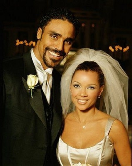A picture of Rick Fox with his ex-wife, singer Vanessa Williams.