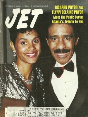 A picture of Kelsey Pryor parents Richard Pryor and Flynn Belaine.