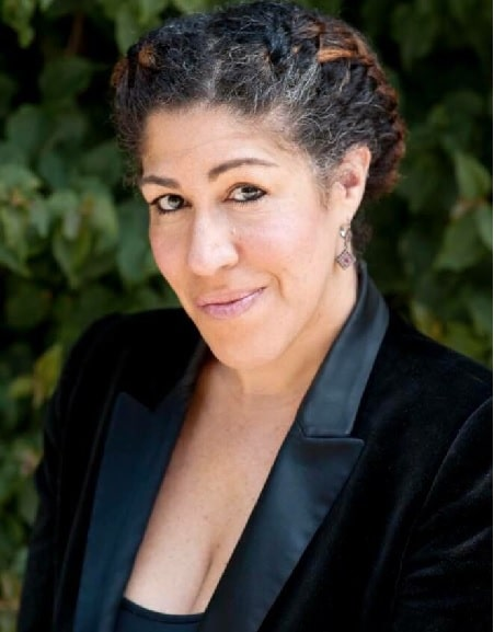 A picture of Kelsey Pryor half-sister Rain Pryor.