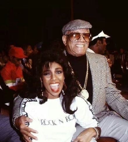 Debraca Denise with her step father Redd Foxx.