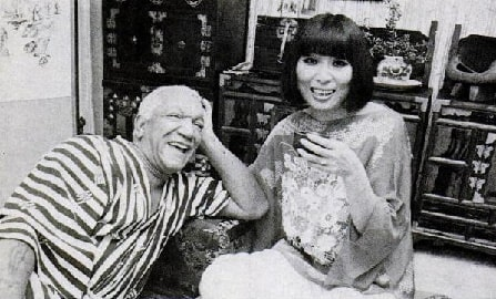 Redd Foxx with his third wife Yun Chi Chung.