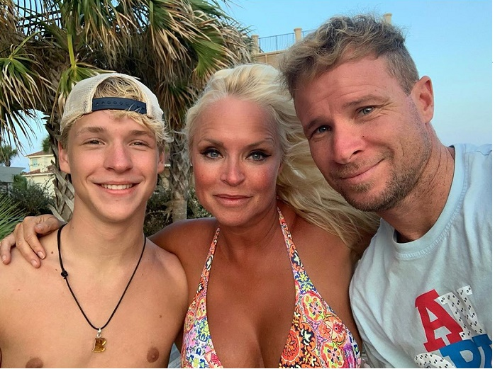 10 Interesting Facts About Baylee Thomas Wylee Littrell Backstreet Boys Member Brian Littrell S Son With Model Leighanne Wallace Glamour Path