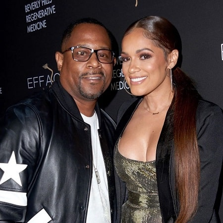 Martin Lawrence with his fiancee Roberta Moradfar.