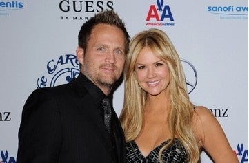 Keith Zubulevich with his ex-wife Nancy O'Dell.