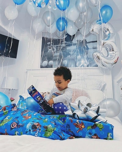 Alyce Madden son Zade Ryker Lee Madden on his 3rd birthday.