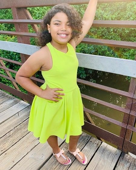 A picture of Daniel Smith daughter Saniya Smith.