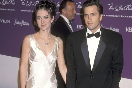 Jennifer Hageney with her ex-husband Andrew Shue.