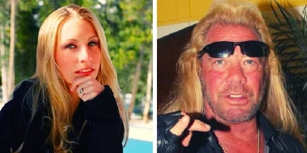 A picture of Tucker Dee Chapman parents Duane Chapman and Lyssa Rae Brittain.