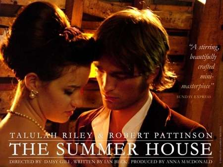 Talulah Riley And Robert Pattinson On The Summer House