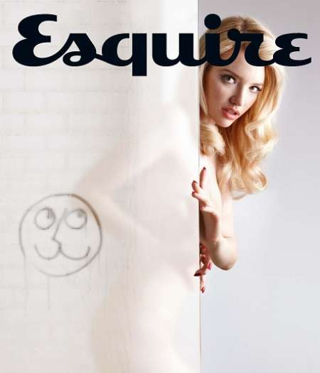 Talulah Riley on the cover of Esquire Edition 2010