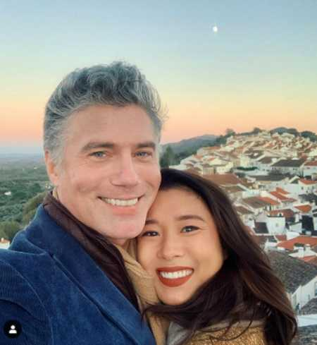 Anson Mount And His Loving Wife Darah Trang.