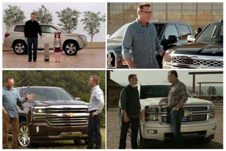 Howie Long is a Chevy Fan, All-onscreen Chevy Truck that Long owns