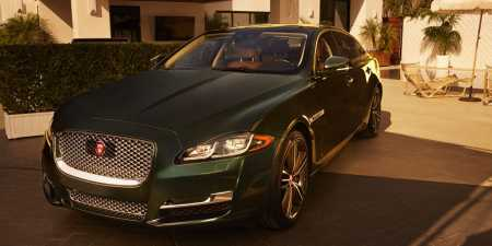Don Cheadle's Jaguar XJ