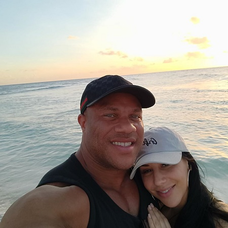 Jennie Laxson ex-husband Phil Heath with her second wife Shurie Cremona.