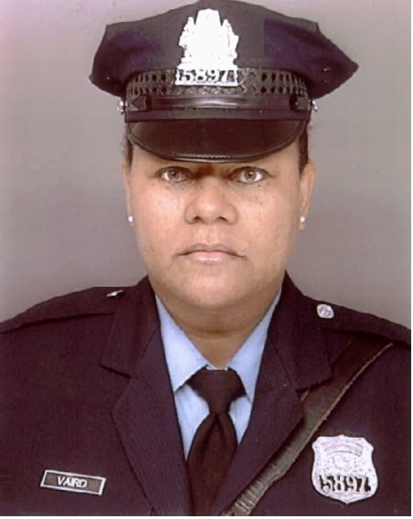 A picture of Officer Lauretha Vaird.