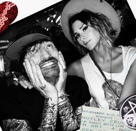 Mötley Crüe's drummer Tommy Lee and Brittany Furlan's Valentines day 2020