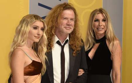 Pamela Anne Casselberry, Dave Mustaine, with Daughter Electra