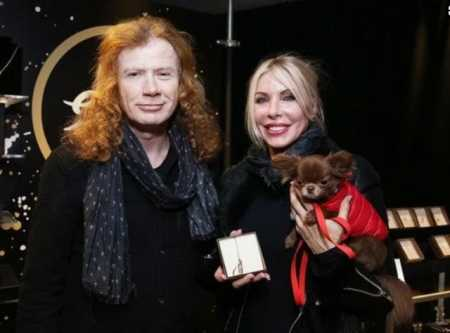 Pamela Anne Casselberry and Dave Mustaine Attending an Award Function