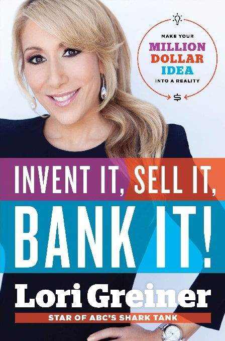 The cover page of the book written by Lori Greiner.