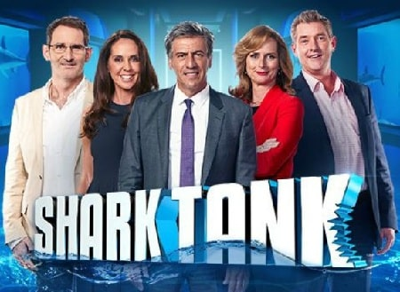 The cover picture of the famous American TV show Shark Tank