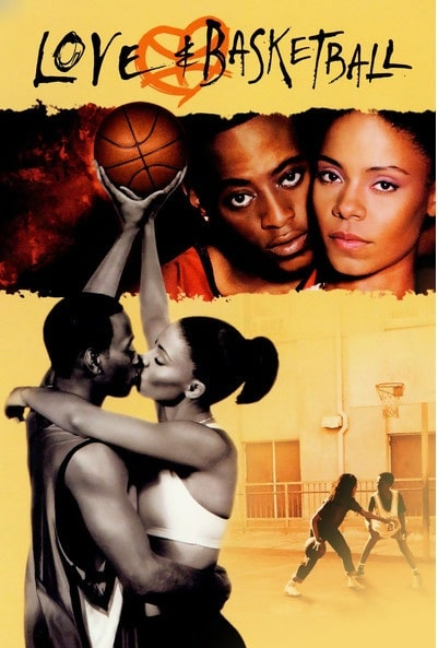 The cover photo of the movie 'Love And Basketball' one of the famous movies played by Sanaa Lathan.