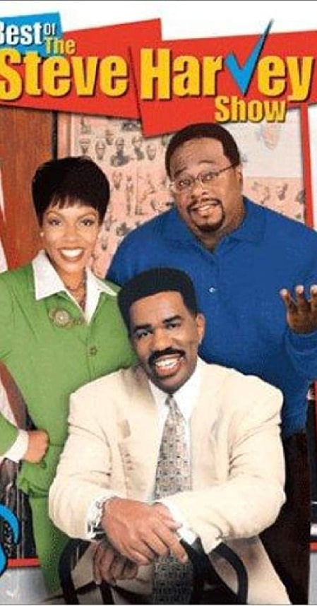 The cover photo of The Steve Harvey Show.