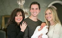 Marie Osmond's Son Stephen Blosil With Husband Steve Craig